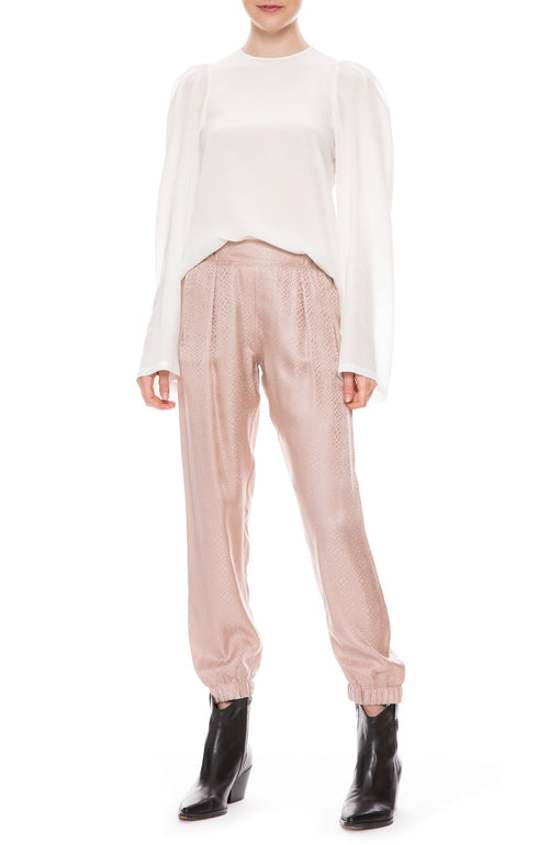 Silk Pants in Fragrance