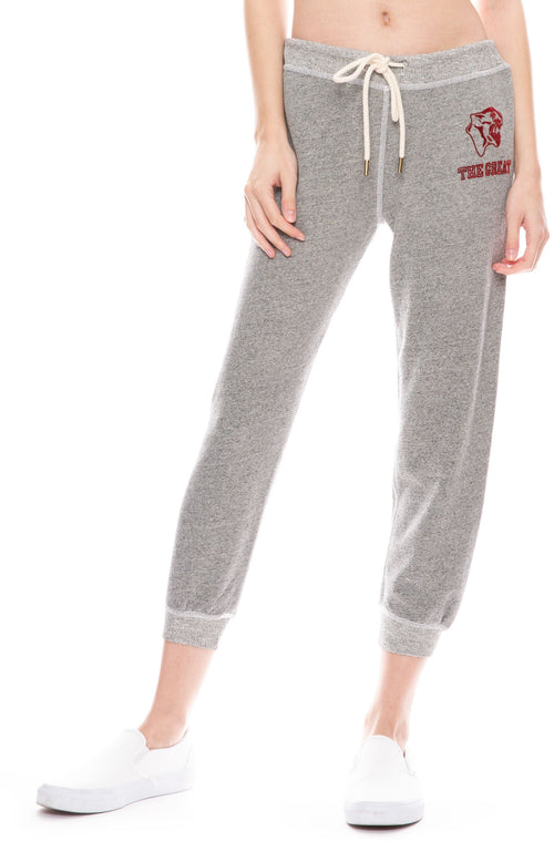 Crop Sweatpant with Jaguar Graphic