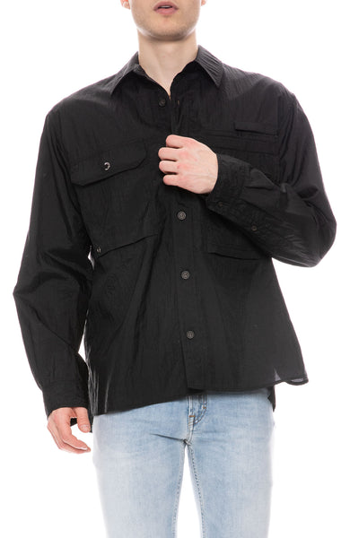 Orallo Nylon Shirt Jacket