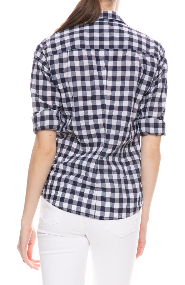 Barry Gingham Button Down Shirt