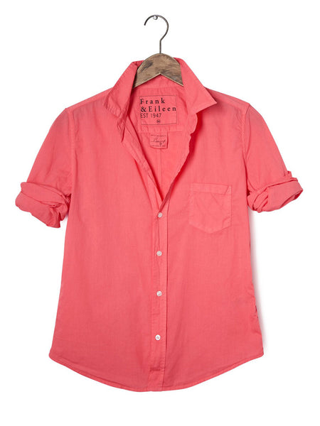 Womens Barry Solid Light Poplin Shirt
