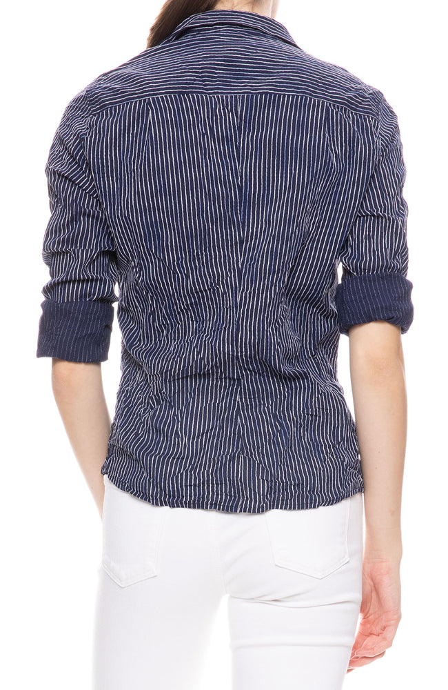 Barry Striped Button Down Shirt