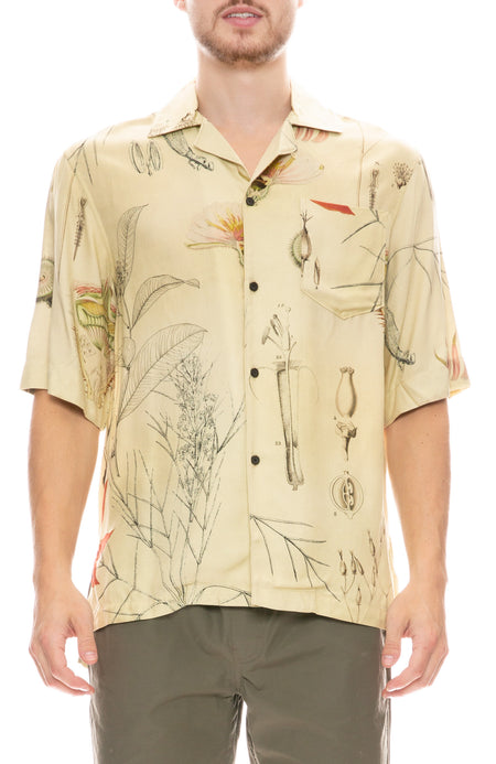 Simon Botanical Print Shirt