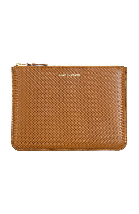 Luxury Leather Zip Pouch