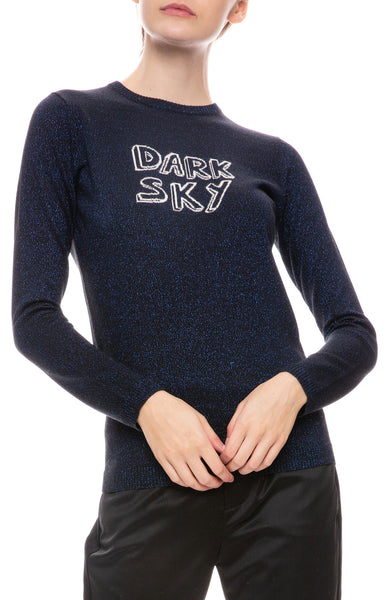Dark Sky Sparkle Sweater
