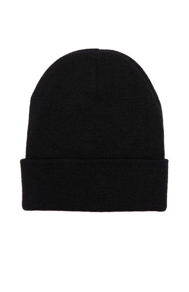 Fact. Logo Beanie in Black at Ron Herman