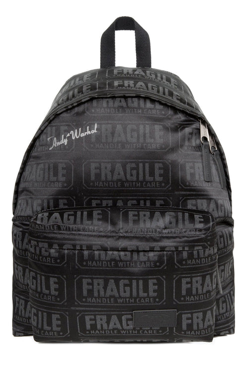 Eastpak x Andy Warhol Fragile Reflective Padded Pak'r Backpack