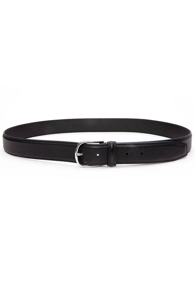 Anderson's Nappa Calf Belt in Black at Ron Herman