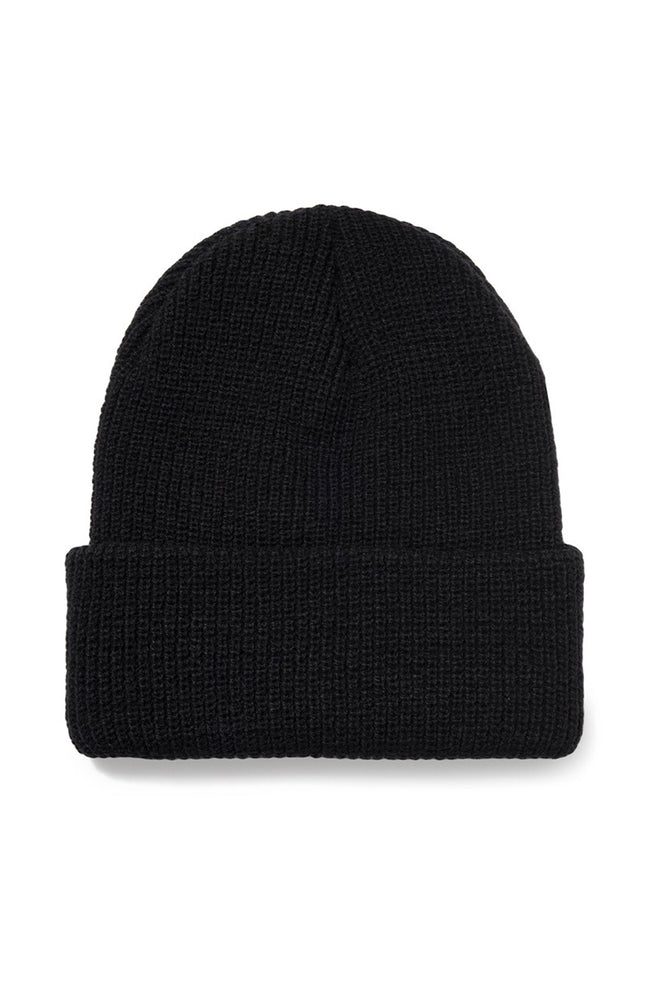 Stussy Sock Cuff Beanie in Black at Ron Herman