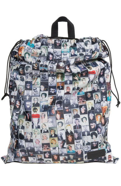Padded Pak'r Andy Warhol Reflective Backpack