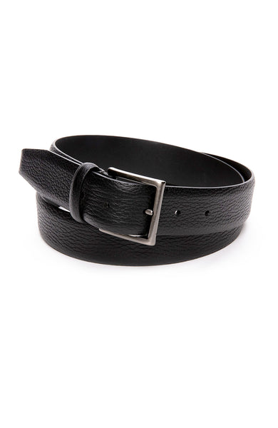 Anderson's Grain Leather Belt in Black at Ron Herman