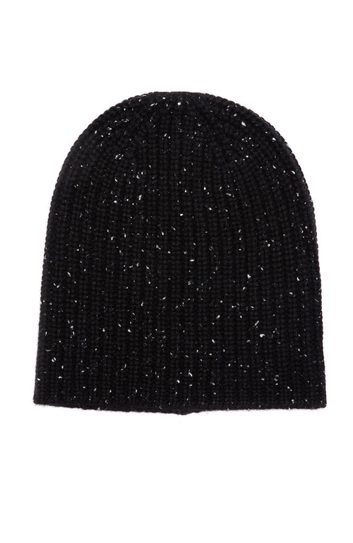 Alex Mill Cashmere Donegal Beanie in Black at Ron Herman