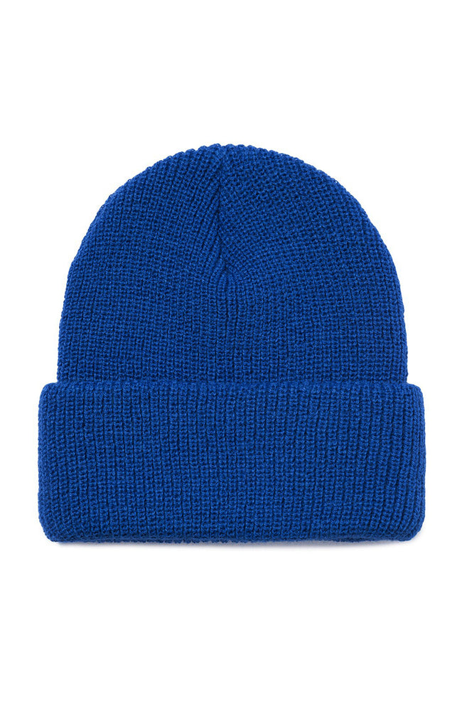 Stussy Sock Cuff Beanie in Royal Blue at Ron Herman
