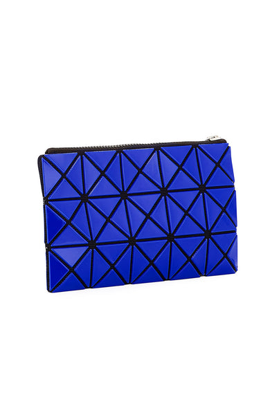 Bao Bao Issey Miyake Prism Flat Pouch in Blue at Ron Herman