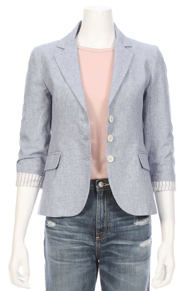 Ron Herman Exclusive Pinstripe Schoolboy Blazer ON SALE at Ron Herman