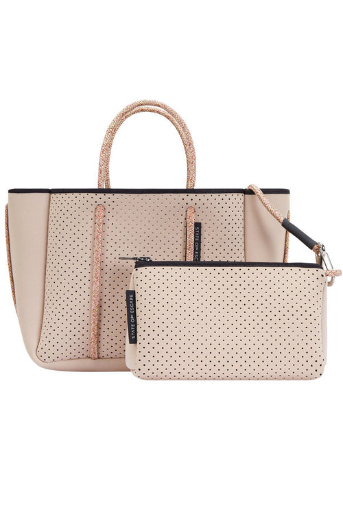 State of Escape Deluxe Petite Escape Bag in Blush