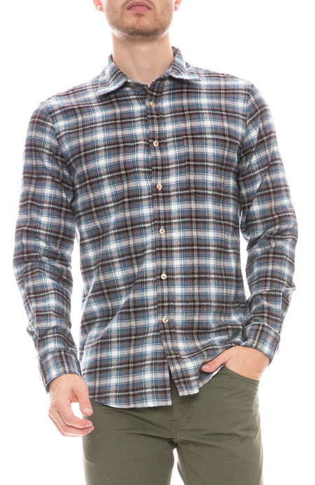 Box Plaid Shirt
