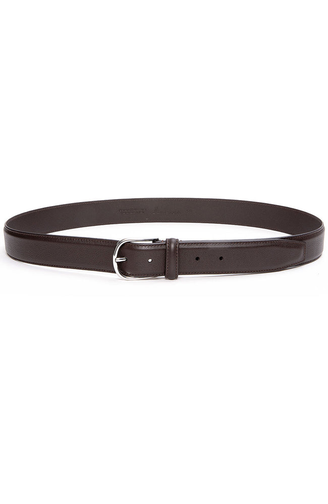 Anderson's Nappa Calf Belt in Brown at Ron Herman