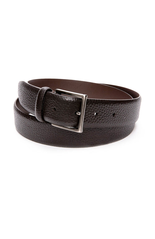 Anderson's Grain Leather Belt in Brown at Ron Herman