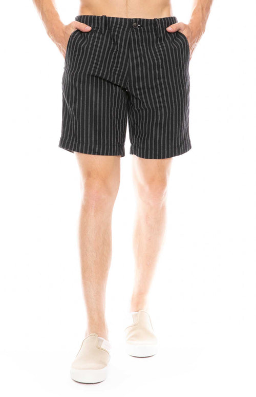 Striped Atelier Shorts