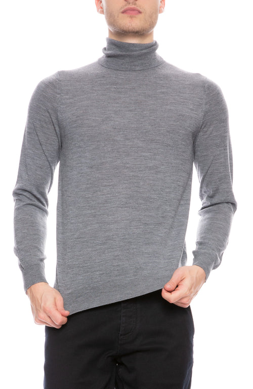 Wool Turtle Neck Sweater