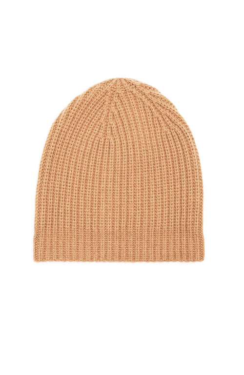 Ron Herman Exclusive Cashmere Knit Hat in Camel