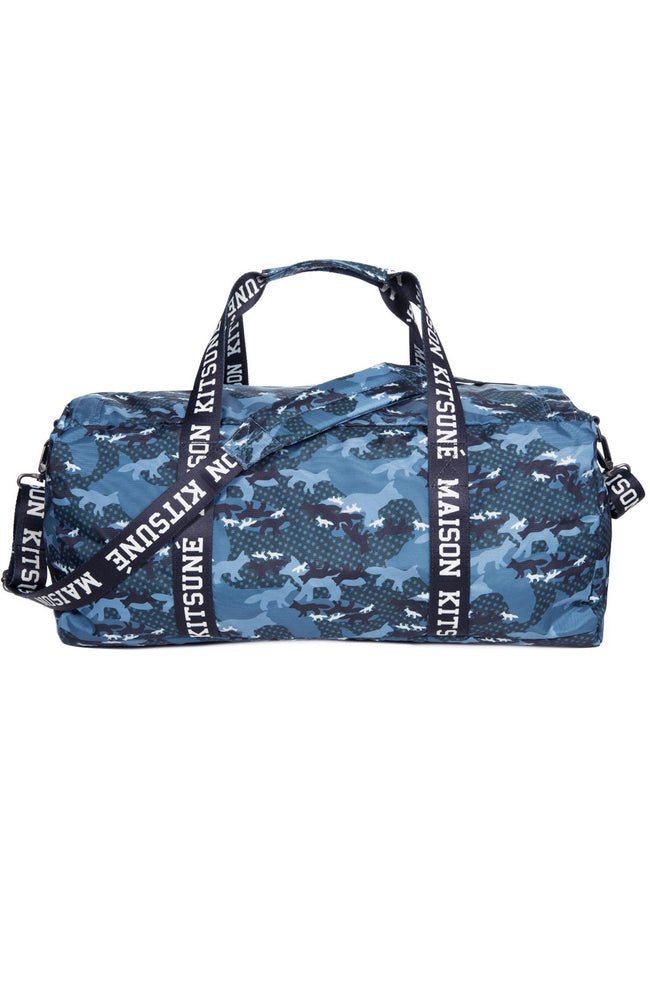 Eastpak x Maison Kitsune Perce Duffle Bag in Dark Camouflage