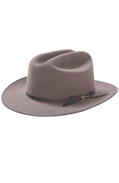Stetson Mens Open Road Royal Deluxe Hat in Caribou