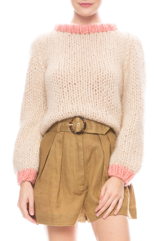 Chunky Knit Cashmere Sweater
