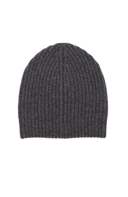 Exclusive Ribbed Cashmere Hat