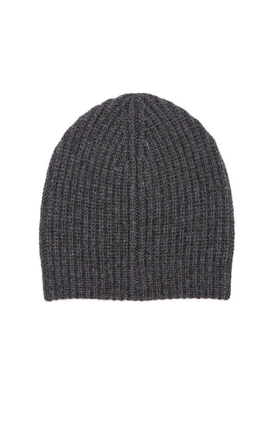 Ron Herman Exclusive Cashmere Knit Hat in Charcoal