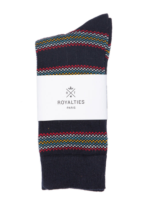 Charly Multi Stripe Socks
