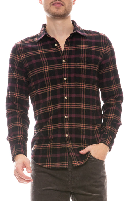 Compact Plaid Shirt