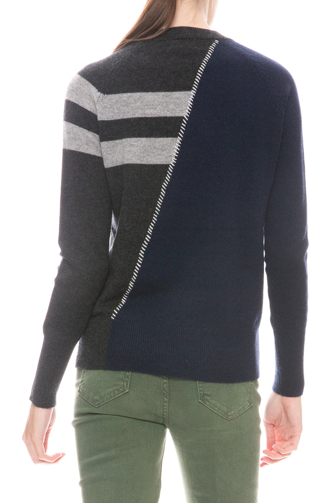 Darcy Two Tone Sweater