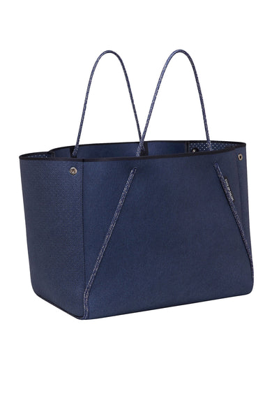 State of Escape Denim Guise Carryall in Dark Denim