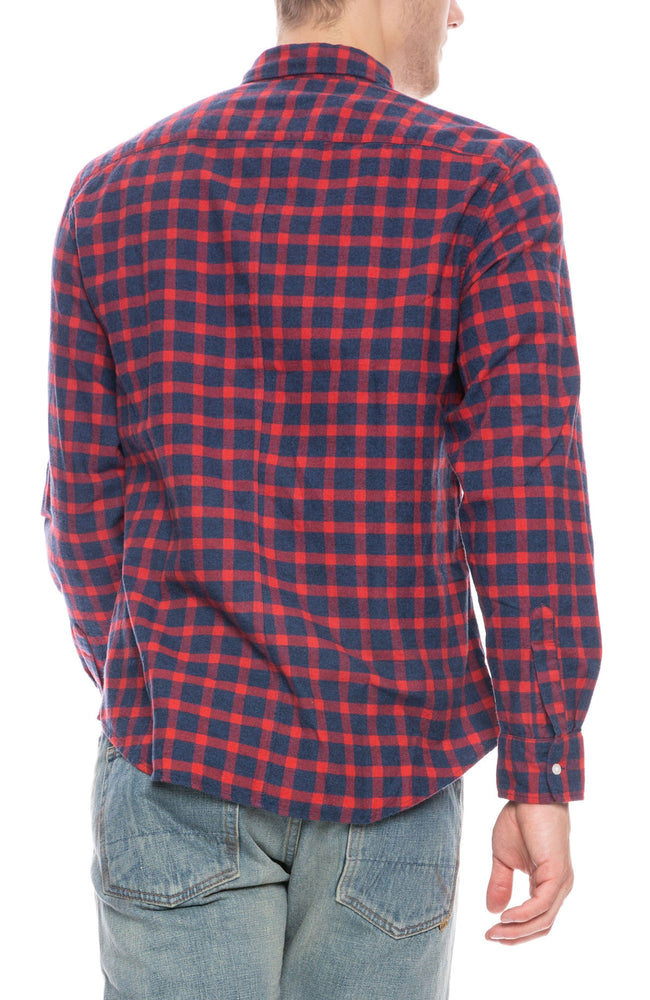 Don Buffalo Check Flannel Shirt