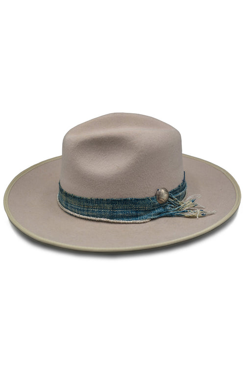 Due North Cattleman Hat With Wrap Medallion