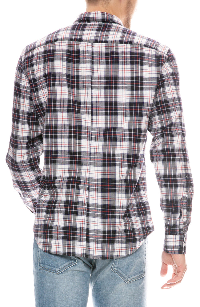 Finbar Plaid Flannel Shirt