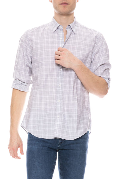Finbar Cotton Plaid Shirt
