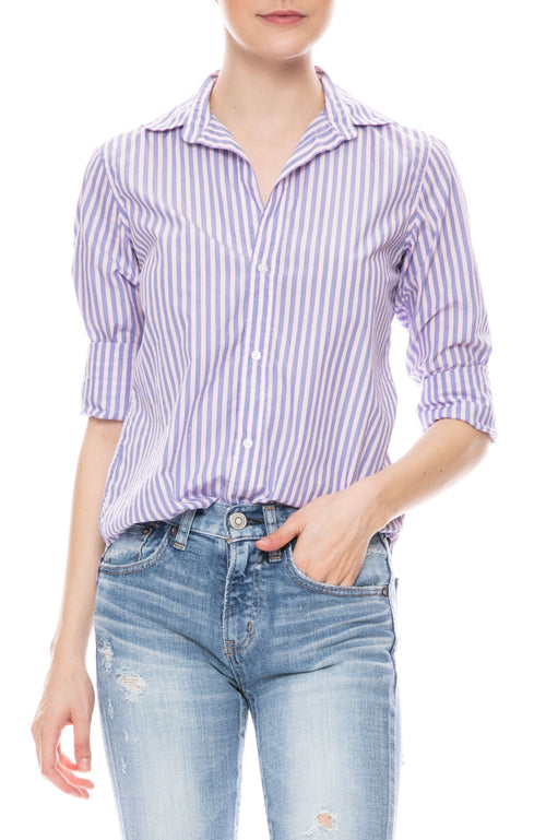 Frank Striped Italian Cotton Shirt