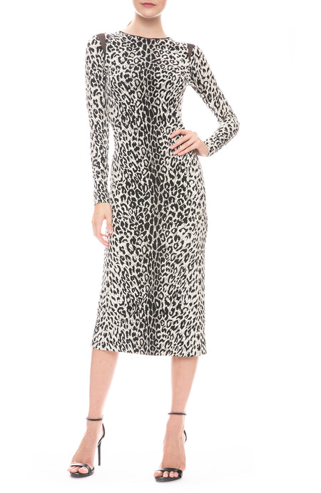 Kate Leopard Pencil Dress