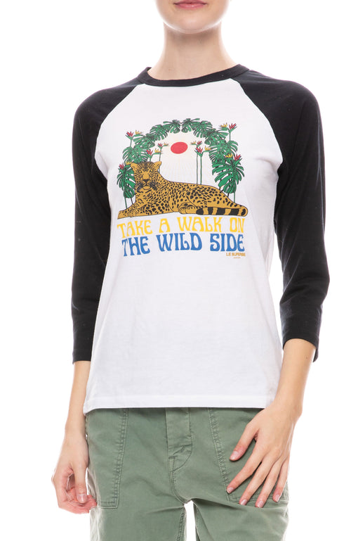 Walk on the Wild Side Baseball Tee