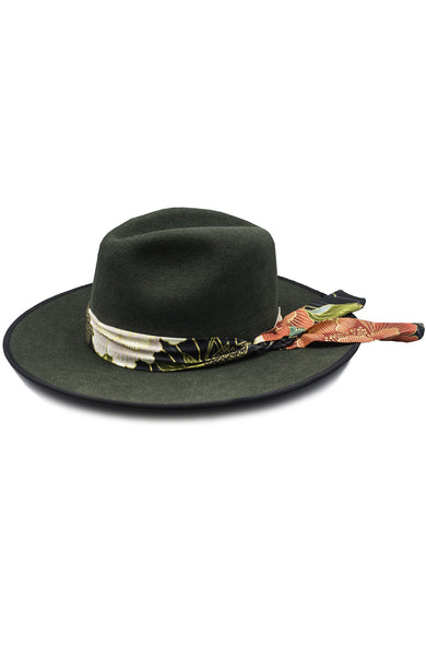 Garden Of Echos Cattleman Hat With Bandanna
