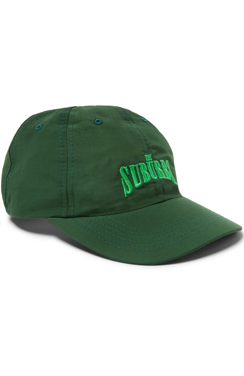 Pasadena Leisure Club Mens Embroidered Suburbs Hat in Green