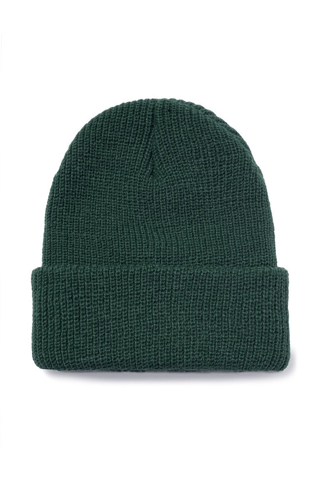 Stussy Sock Cuff Beanie in College Green at Ron Herman