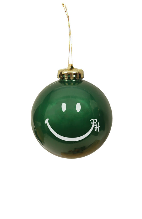 Ron Herman Exclusive Green Happy Face Ornament