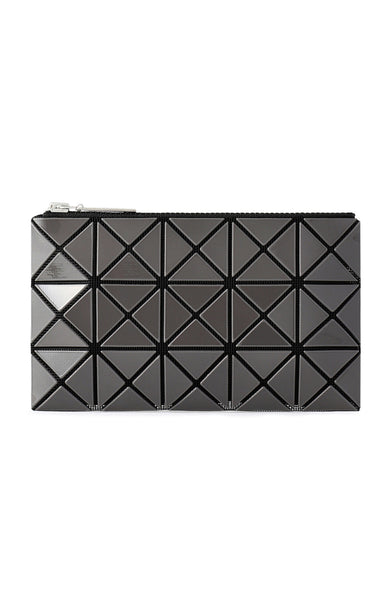 Bao Bao Issey Miyake Prism Flat Pouch in Charcoal at Ron Herman