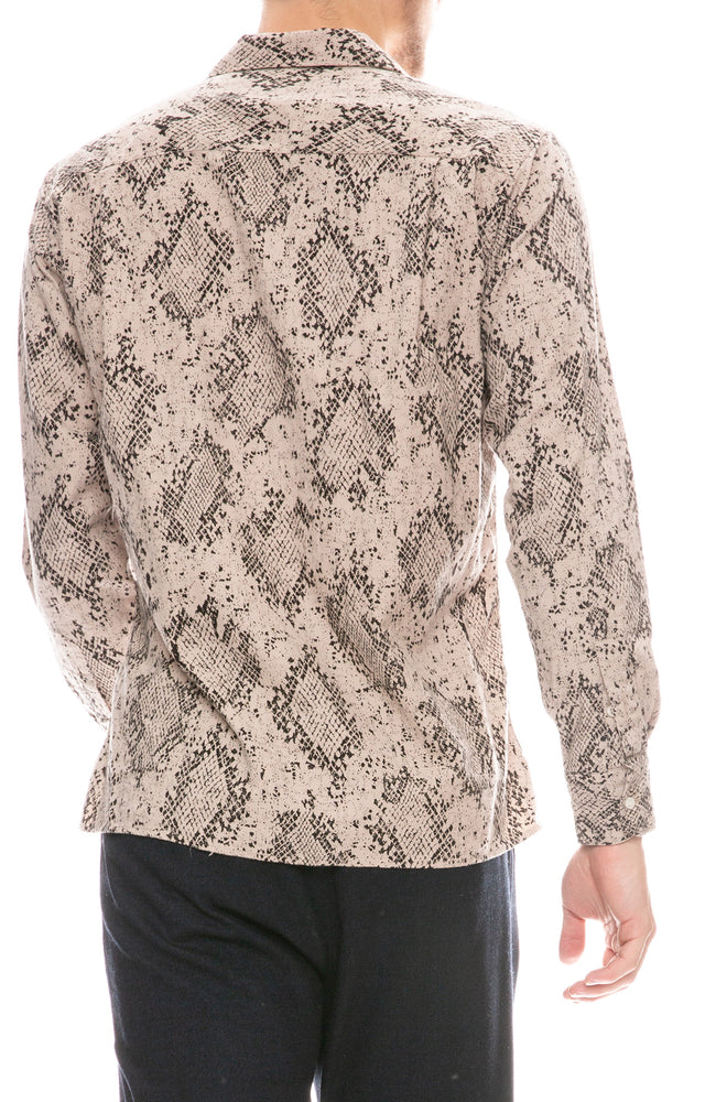 Snake Print California Shirt