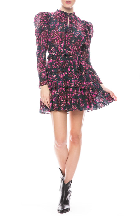 Prissa Floral Mini Dress