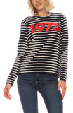 Limited Edition 1973 Modern Long Sleeve Stripe Shirt